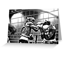 One more punch Greeting Card
