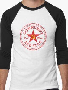 Commie Shoe Logo Men's Baseball ¾ T-Shirt