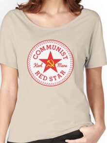 Commie Shoe Logo Women's Relaxed Fit T-Shirt