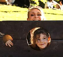 In The Stocks: New York Renaissance Faire by Dave Bledsoe