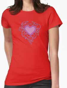Purple Heart Womens Fitted T-Shirt