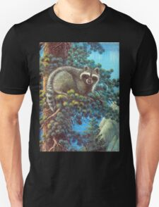 Treed Raccoon Lake Tahoe  Unisex T-Shirt