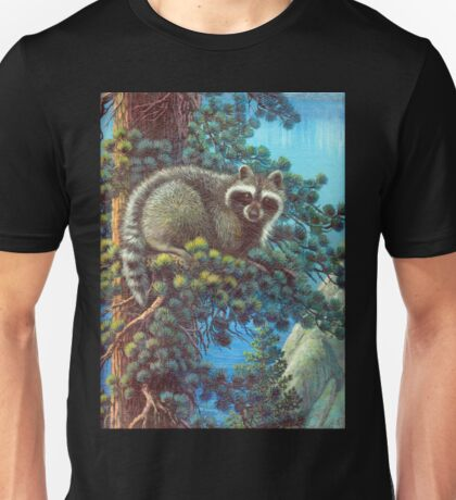 Treed Raccoon Lake Tahoe  Unisex T-Shirt