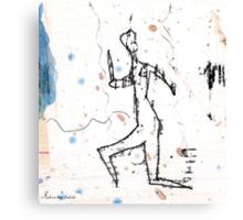 dancer - the run Canvas Print