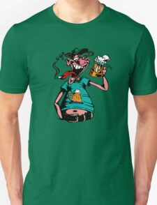 Drunk Man With Beer T-Shirt