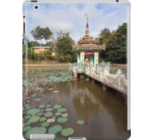Local temple, Hsipaw, Shan State, Myanmar iPad Case/Skin