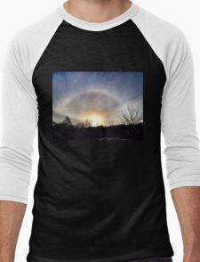 Ice Halo Men's Baseball ¾ T-Shirt