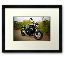 Triumph Speed Triple Framed Print