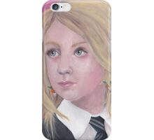 The Girl with the Radish Earrings iPhone Case/Skin