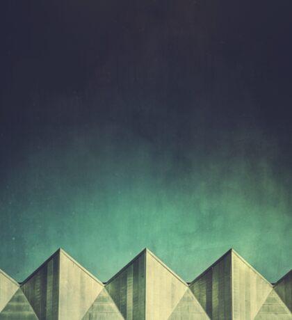 Urban Geometric Landscape Skyline Sticker