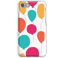 Party balloons pattern. iPhone Case/Skin