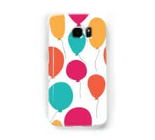 Party balloons pattern. Samsung Galaxy Case/Skin
