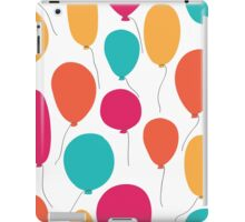Party balloons pattern. iPad Case/Skin