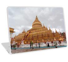Shwezigon Pagoda, Bagan, Myanmar Laptop Skin