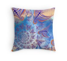 Swarming Flight Throw Pillow