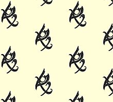 The Mortal Instruments - Word Filled Fearless Rune by phabbyhowell