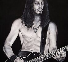 Chris Cornell of Soundgarden by whiterabbitart