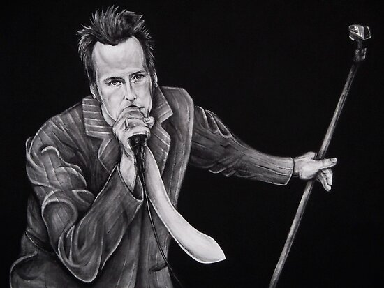 Scott Weiland of Stone Temple Pilots by whiterabbitart