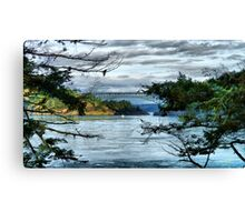Bridge in the Trees Canvas Print