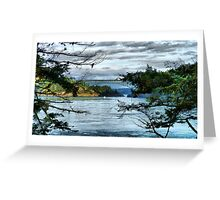 Bridge in the Trees Greeting Card