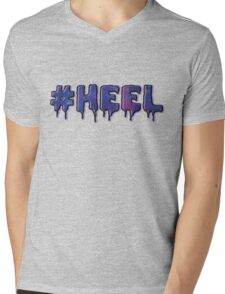 HEEL - Pastel D (Galaxy) Mens V-Neck T-Shirt