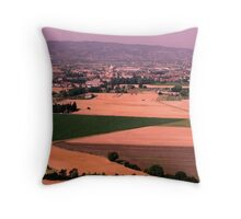 Assisi tinted Throw Pillow