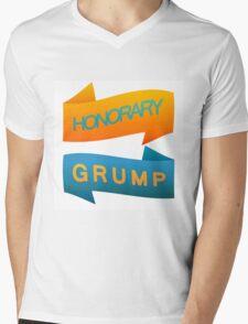Honorary Grump Mens V-Neck T-Shirt