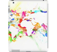 WORLD MAP iPad Case/Skin