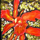 Flower Painting  - Cowleya flower by gilbertlamm
