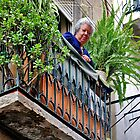 Do you like my balcony......? by Adri  Padmos