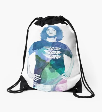 Danny Avidan - Watercolor Drawstring Bag
