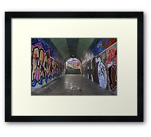 Art or decay.....? Framed Print