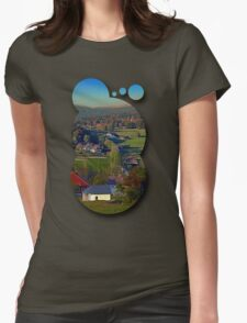 Beautiful autumn scenery | landscape photography Womens Fitted T-Shirt