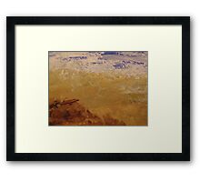 The waves role in.... Framed Print