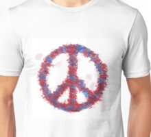 PEACE AND LOVE Unisex T-Shirt