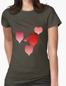 Heart of My Hearts Womens Fitted T-Shirt