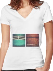 VW Duo Women's Fitted V-Neck T-Shirt