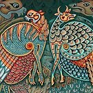 Zoomorphic Winged Beasts by Smurfesque
