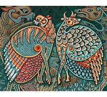 Zoomorphic Winged Beasts Photographic Print