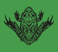 Tribal Leopard Frog by fizzgig