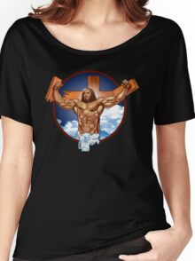 Come-at-me-bro-jesus Women's Relaxed Fit T-Shirt