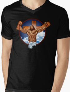 Come-at-me-bro-jesus Mens V-Neck T-Shirt