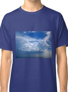 Stormy sky with clouds Classic T-Shirt