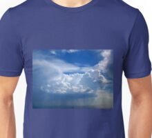 Stormy sky with clouds Unisex T-Shirt
