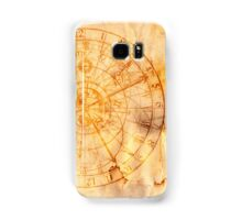 zodiac signs and astronomical clock Samsung Galaxy Case/Skin