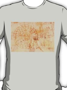 zodiac signs and astronomical clock T-Shirt