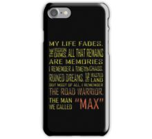 The Man We Called Max iPhone Case/Skin