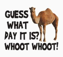 Hump-Day-Camel-Whoot-Whoot! Kids Clothes