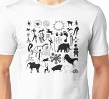 cave paintings - primitive art Unisex T-Shirt
