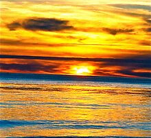 January 2010 Sunset - Summerland, CA by Lexi